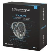 Interphone Tour Bluetooth Headset Twin Pack